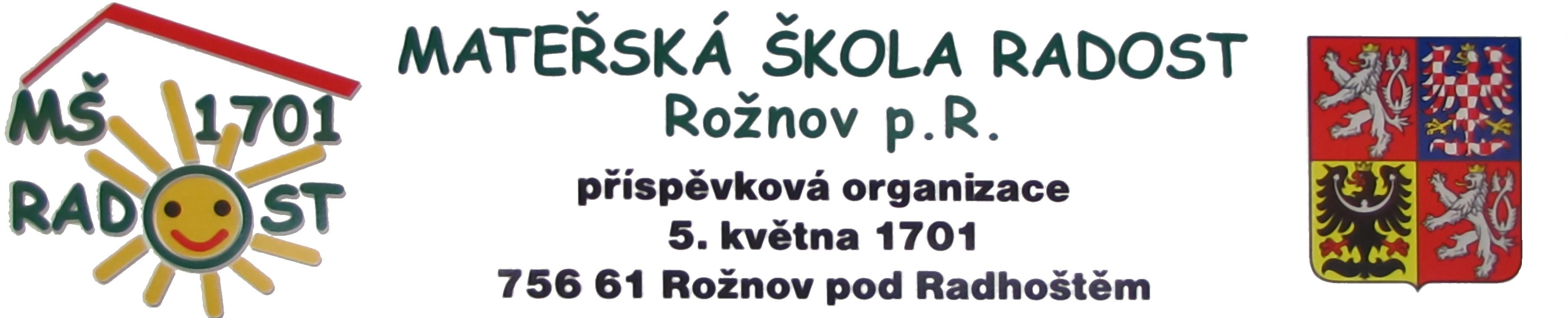 Mateřská škola Radost, Rožnov p. R.